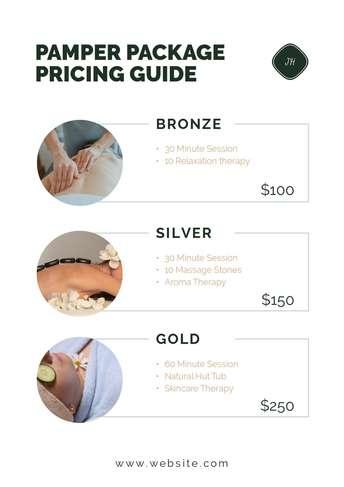 Design A Price List Online Free Price List Templates By Desygner